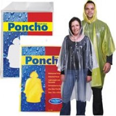 LL1799s Reusable Poncho In Poly Bag