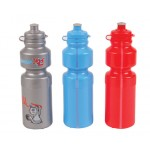 WB200 Drink Bottle   Colour sequence pictured: Sliver | Sky | Red